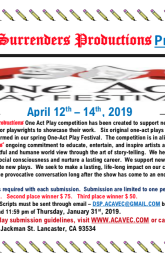 One-Act Play Festival Competition