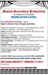 Meisner Acting Class
