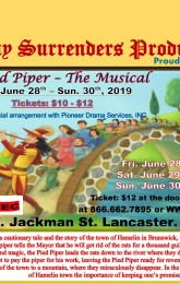 The Pied Piper, the Musical